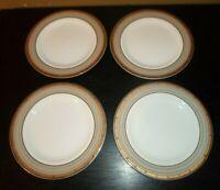 "(4) Mikasa CAMBRIDGE 8 1/4"" Salad Plates"