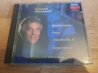 Vladimir Ashkenazy : Beethoven: Piano Concerto No. 5 & Choral CD Amazing Value