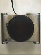 Nesco Electric Ceramic Burner Hot Plate 7.4 in. Diameter Cooktop Stainless steel
