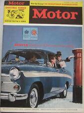 Motor magazine 25 December 1963 featuring Trojan tourer road test
