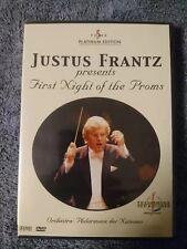 Justus Frantz DVD First Night of the Proms Musik Klassik OVP Platinum Edition
