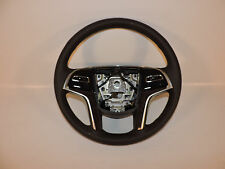 Brand New 2013 2014 Cadillac XTS Wood Grain Steering Wheel with Paddle Shifter