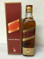 Johnnie Walker red label old scotch whisky 75cl 40% Vol con box