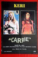 CARRIE SISSY SPACEK BRIAN DE PALMA 1976 JOHN TRAVOLTA HORROR RARE EXYU MOVIE POS