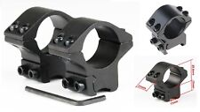Anillas Medias/Bases11mm para Visores pulgada(25,4mm de diámetro) /Caza/Rifles/
