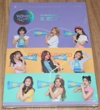 TWICE WHAT IS LOVE? 5th Mini Album B Ver. CD + PHOTOCARD SET + POSTER IN TUBE