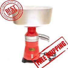 NOUVEAU!!! Lait Crème électrique Séparateur centrifuge Machine Metal 100L/H Worldwide