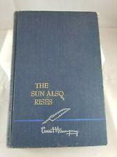 The Sun Also Rises, Ernest Hemingway, SCRIBNER'S 1954 Hardcover book