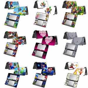 Nintendo  [3DS ] VINYL SKIN STICKER DECAL COVER SET -9 Patterns