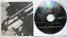 FEAR FACTORY - Concrete  Advanced Promo CD  Roadrunner RR PROMO 647