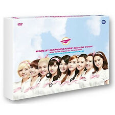 Korea Music Girls' Generation - World Tour [Girls & Peace in Seoul] (DVDMU254)