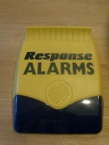 Response alarms 433mhz live siren USED but in good condition ,new batteries fitt