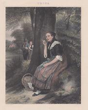 Trina, A.H.Payne 1850 acquaforte