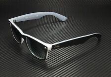 RAY BAN RB2132 630971 New Wayfarer Matte Black Opal Ice Dk Grey 52 mm Sunglasses