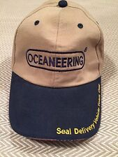 OCEANEERING SEAL DELIVERY VEHICLE TEAM ONE USS MICHIGAN STRAPBACK CAP HAT NEW A7