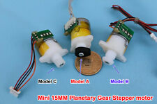 Micro Mini 15mm 2 Phase 4 Wire Precision Planetary Gearbox Gear Stepper Motor