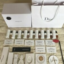 Chistian Dior Privee miniature parfum Collection 9pieces+39 Dior Fragrance Card