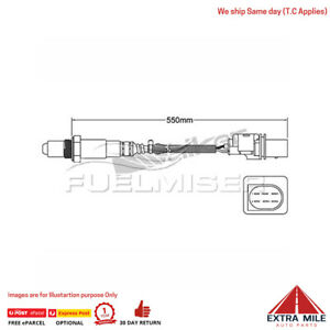 COS1316 OXYGEN SENSOR-PRE-CAT for HOLDEN CAPTIVA CAPTIVA CG
