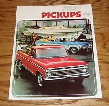 Original 1975 Ford Truck Pickup Sales Brochure 75 F-100 F-250