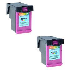 2x Farbe patrone CC656AN 901XL für HP OfficeJet J4500 J4524 J4535 J4580 J4600