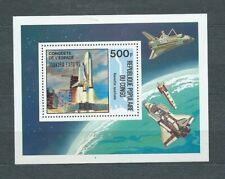 AFRIQUE CONGO - 1985 YT 39 ESPACE - BLOC NEUF** MNH LUXE