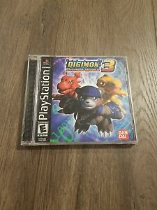 Digimon World 3 PLAYSTATION 1 PS1 Tested