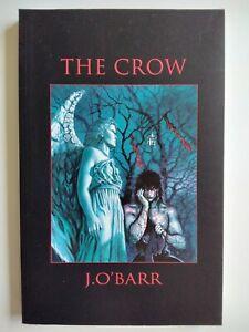 🔥THE CROW 1ST PRINT TPB GRAPHIC NOVEL**1993 KITCHEN SINK**J O'BARR**VF**SCARCE!