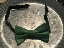 Boy's Green Polka Dot Bow Tie