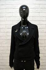 MOSCHINO JEANS Donna Giacca Blazer Nera Taglia 42 S Jacket Women's Black TOP
