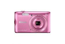 Nikon Coolpix A300 Cámara Digital Compacta: Rosa