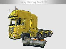 Der Scania® Heavy Hauling Truck Bulding Instruction/Bauanleitung Lego® Technic