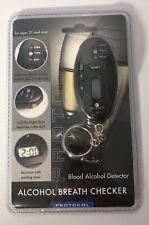 Protocol Alcohol Breath Checker w/Parking Timer, Keychain, & Led Flashlight!
