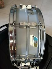 Ludwig Acrolite Classic Aluminum Snare Drum 6.5x14 With Hardcase. Made in USA
