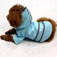 Hundemantel Regenmantel Hundebekleidung Hundejacke Luxus M Blau NEU OVP