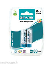 ENVIE AA 2100 MAH NIMH RECHARGEABLE BATTERIES / CELLS FOR DIGITAL CAMERAS: 2 PC
