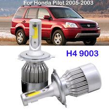 Car 72W H4 9003 LED Headlight Kit Bulbs For Honda Pilot 2005-2003 High Low Beam