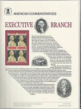 # 2414 EXECUTIVE BRANCH, GEORGE WASHINGTON 1989 COMMEMORATIVE PANEL