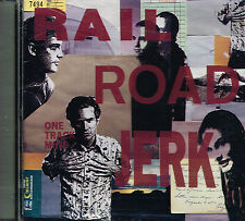 CD album: Rail Road Jerk: one track mind. matador. garage rock