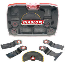 Diablo Multi Tool 5 Blade Set Storage Case Model# 2608F01089 &