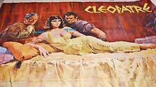 elizabeth taylor CLEOPATRE cleopatra ! affiche 1963 tres rare geante 4x3,50m
