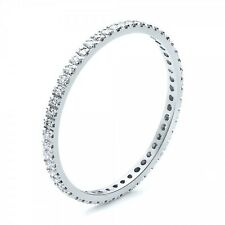 F/ VS 0.50 Carat Round Brilliant Cut Diamond Full Eternity Ring in Platinum