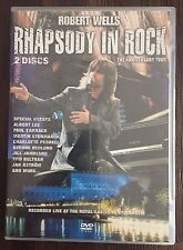 ROBERT WELLS RHAPSODY IN ROCK - The Anniversary Tour - 2 DVD Set - LN