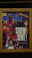 MICHAEL JORDAN 1990 SPORTS ILLUSTRATED MAGAZINE  MAY SHOW TIME