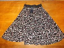 Full Length Viscose A-line Regular Size Skirts for Women