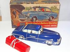 *(S) WELLS BRIMTOY WELSOTOYS POLICE CAR REMOTE