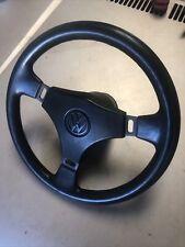 Vw Mk1 Mk2 Rabbit Golf Caddy Jetta Steering Wheel Used Condition