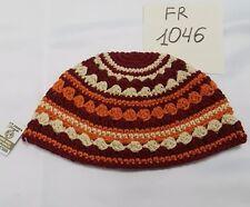 Colorful Frik Yarmulke Freak Jewish Kippah Kipah Knitted Judaica 12x21cm Kipa