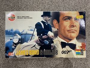 1998 AIRFIX James Bond 007 & ODDJOB Figures 04402 *FACTORY SEALED* 1:12 Scale