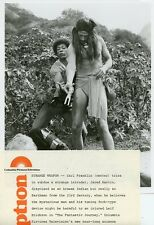 JARED MARTIN CARL FRANKLIN ARAWAL INDIAN THE FANTASTIC JOURNEY 1977 NBC TV PHOTO