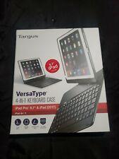 "Targus VersaType 4-in-1 Keyboard Case iPad Air / 2 & iPad Pro 9.7"" THZ620US New"